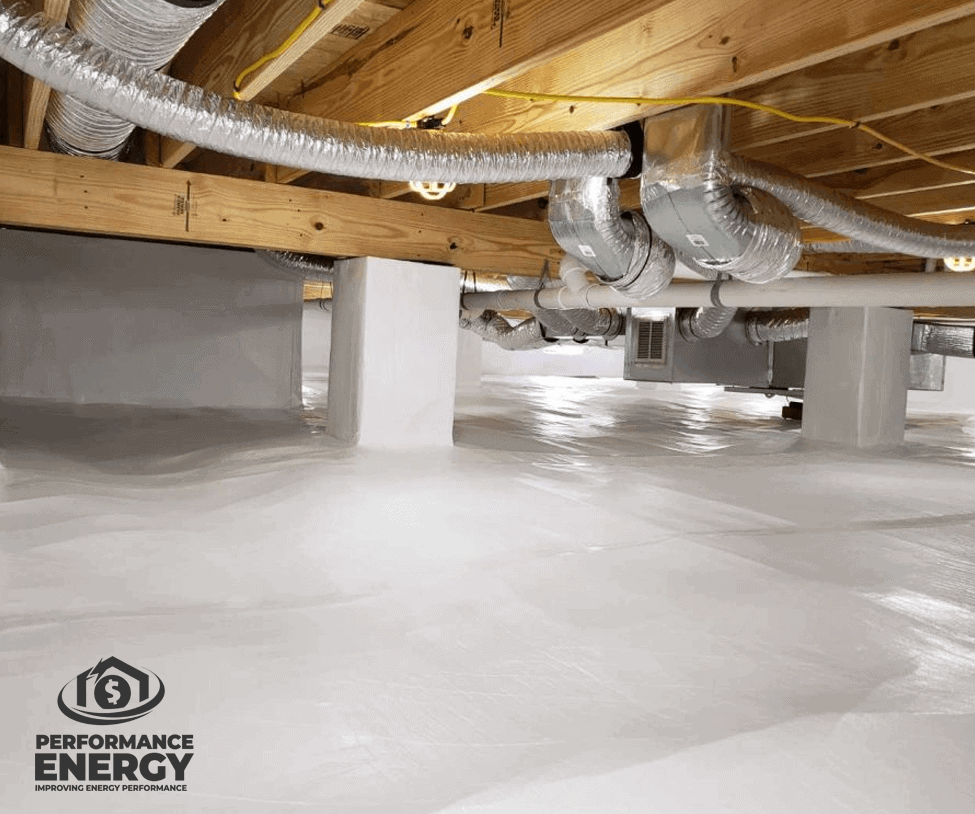 Crawl Space Waterproofing Services | Performance Energy