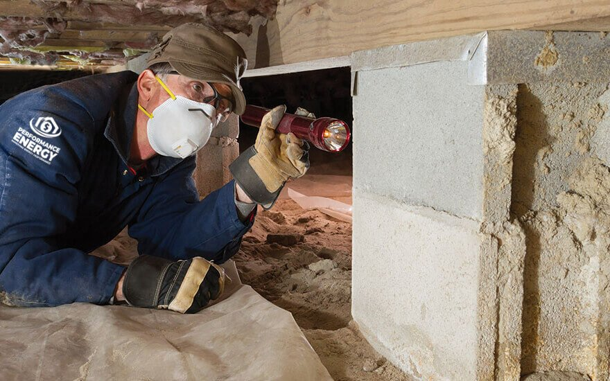 Attic or Crawl Space Insulation | Performance Energy